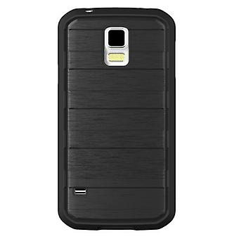 Body Glove Rise Case for Galaxy S5 (Black/ Brushed Metal)