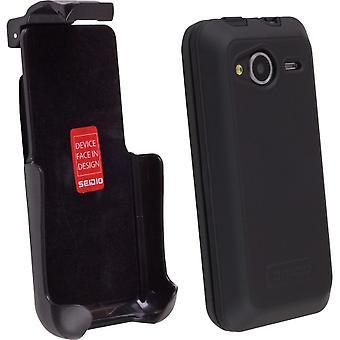 Seidio Innocase actif cas/étui Combo pour HTC EVO Shift 4G - noir