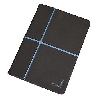 Urban Factory custodia protettiva con supporto per Tablet da 10 pollici-grigio/blu