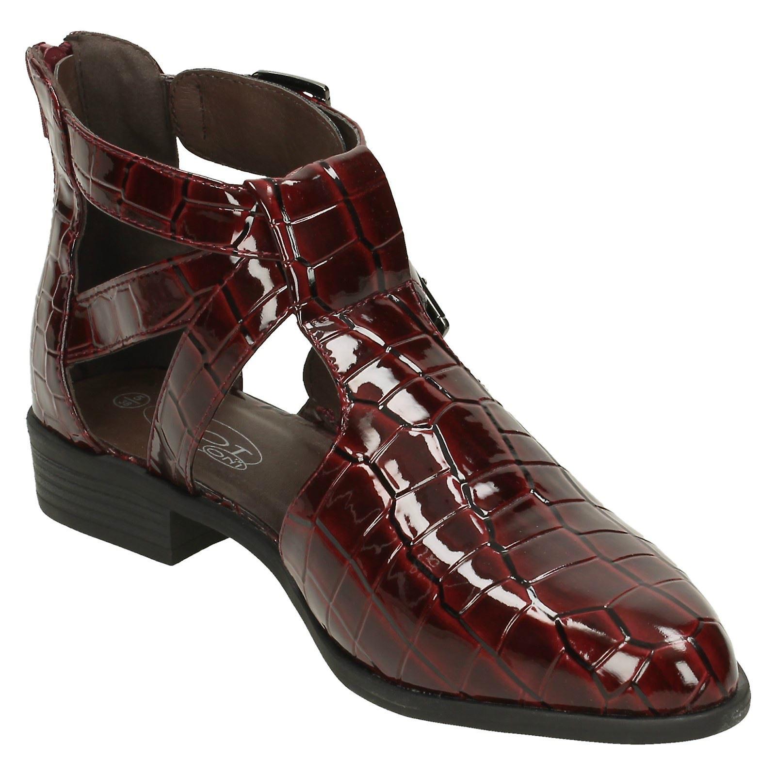 Womens Spot På Kutt Ut Støvler
