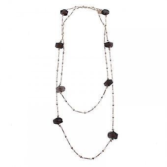 Bcharmd Luxe Smokey Quartz Necklace