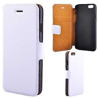 Super Slim Luxury Wallet Case For iPhone 6/6S, White