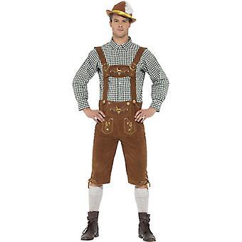 Tradičný Deluxe Hanz Bavorský kostým