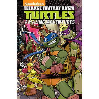 Teenage Mutant Ninja Turtles Amazing Adventures Volume 4 by Caleb Goe