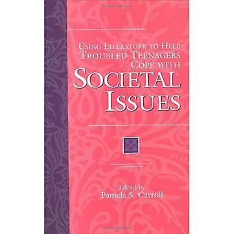 Usar literatura para ajuda com problemas de adolescentes a enfrentar questões societais
