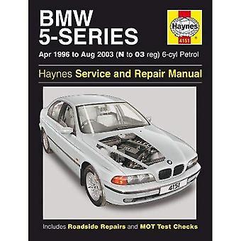 BMW 5-Series 6-Cyl (essence) atelier manuel: 96-03