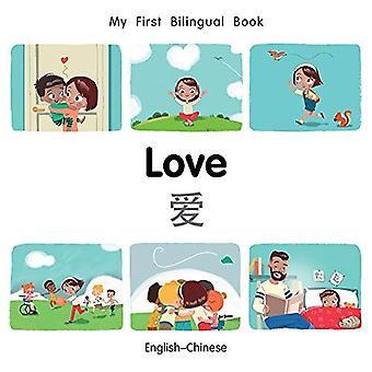 Mijn eerste tweetalige boek-liefde (Engels-Chinees) (mijn eerste tweetalige boek) [Board boek]