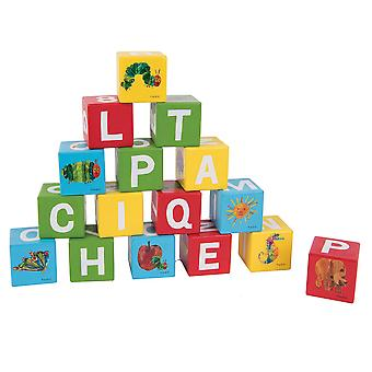 Rainbow Designs The Very Hungry Caterpillar and Friends Wooden Blocks