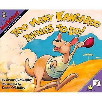 Troppe cose di canguro da fare! (Mathstart: livello 3 (libro in brossura di HarperCollins))