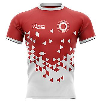 2019-2020 Japan Home Concept Rugby Shirt - Adult Long Sleeve