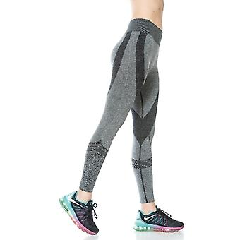 Leggings Active sans soudure de Jerf - Womens-moa - Grey Melange-