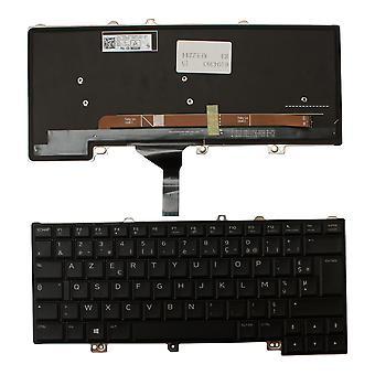 Teclado del ordenador portátil de la sustitución de Alienware 15 R3 negro retroiluminado Windows 8 diseño francés