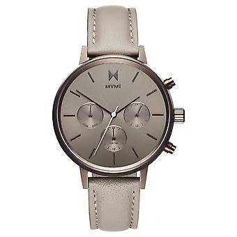 MVMT Nova Lyra Women's Watch Wristwatch Leather FC01-TITA