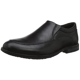 Rockport mens Dustyn Slip on zapatos de cuero