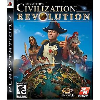 Sid Meiers Civilization Revolution PS3 Game
