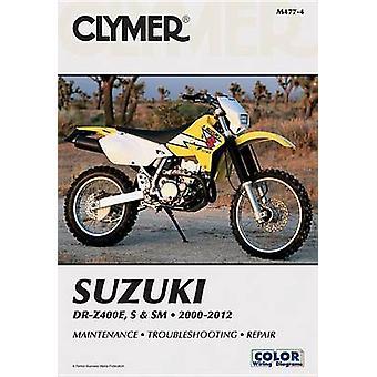Clymer Suzuki DR-Z400E - S & SM 2000-2012 by Clymer Publications - 97