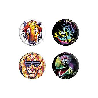 Unorthodox Collective Burning Bright Badge Pack