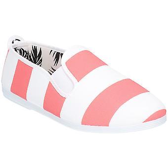 Flosset jenter Junior Urpia slip på casual sommer Pump sko