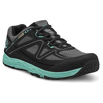 Topo Hydroventure Womens Lightweight & Waterproof Trail Running Shoes Black/turquoise