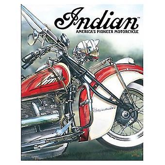 Indian America's Pioneer Retro Tin Sign