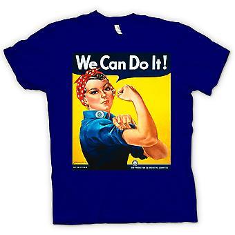 Mens t-skjorte-krigen plakat T skjorte