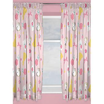 Disney Princess Beauty and the Beast Curtains