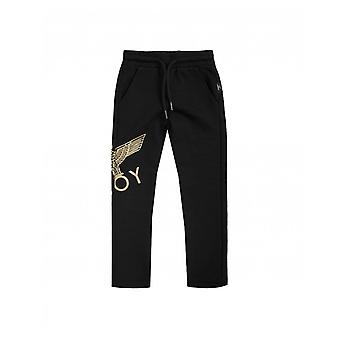 Junge London Unisex Boy Eagle Logo Jogger