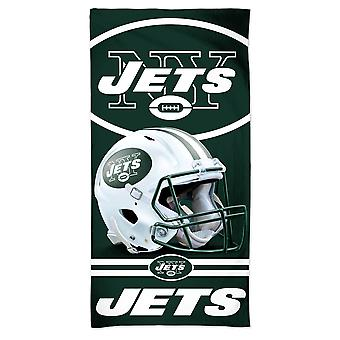 Wincraft NFL New York Jets 3D ranta pyyhe 150x75cm