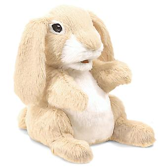 Hand Puppet - Folkmanis - Sniffing Rabbit New Animals Soft Doll Plush Toys 3074