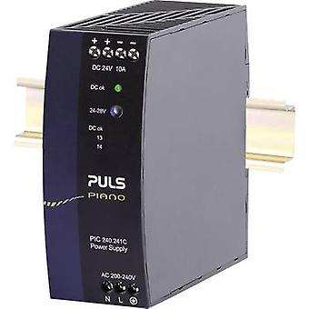 PULS Piano Rail mounted PSU (DIN) 24 Vdc 10 A 240 W 1 x