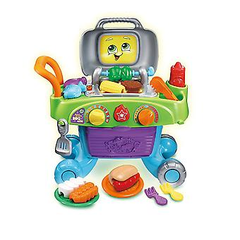 LeapFrog Smart Sizzling BBQ Grill Playset Toy