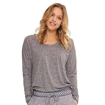 LingaDore 4424-228 Women's Myths Grey Loungewear Top