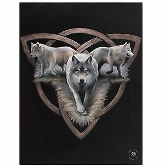 Wolf Trio Canvas kuva by Anne Stokes