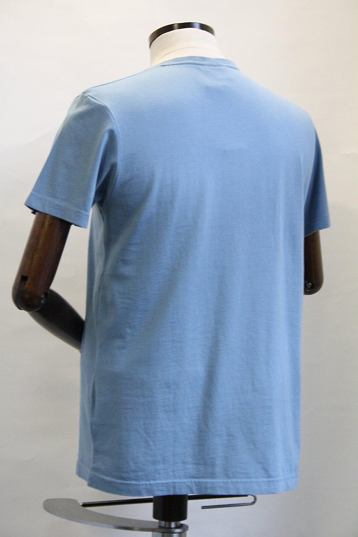 Merc London Mason Vintage Blue T-Shirt