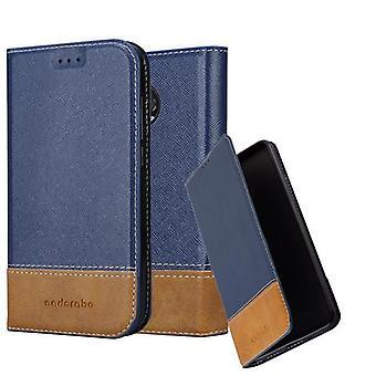 Cadorabo Hülle für Motorola MOTO X4 Case Cover - Handyhülle mit Magnetverschluss, Standfunktion und Kartenfach – Case Cover Schutzhülle Etui Tasche Book Klapp Style