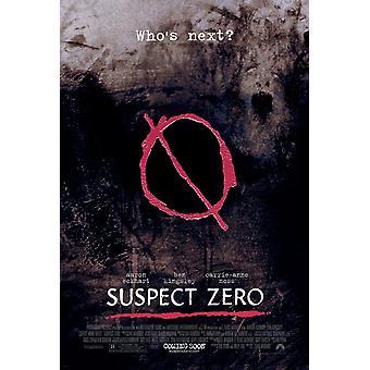 Supect Zero (dubbelsidig regelbunden) original Cinema affisch