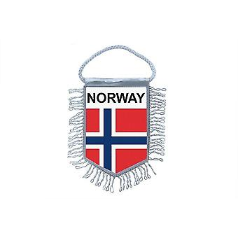 Flag Mini Flag Country Car Decoration Norwegian
