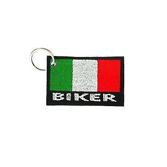 Cle Cles Key Brode Patch Ecusson Biker Biker Morale Flag Italy Biker