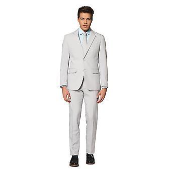 Groovy Grey Grey Suit Mister Grey Opposuit Slimline Premium 3 pièces EU SIZES