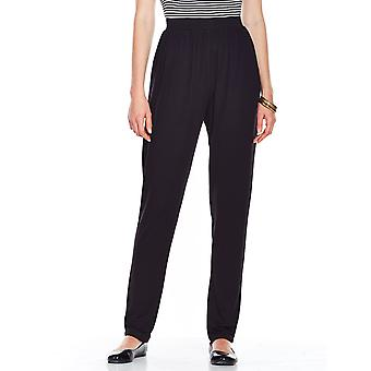 Amber Ladies Jersey Straight Leg Trouser