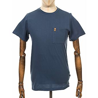 Fjallraven Ovik Pocket Tee - Uncle Blue