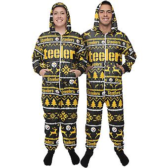 Pittsburgh Steelers NFL Winter Hooded One Piece Suit