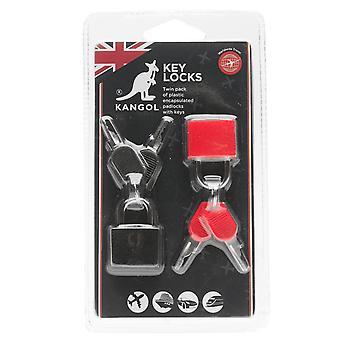 Kangol Unisex Key Locks Pack de 2