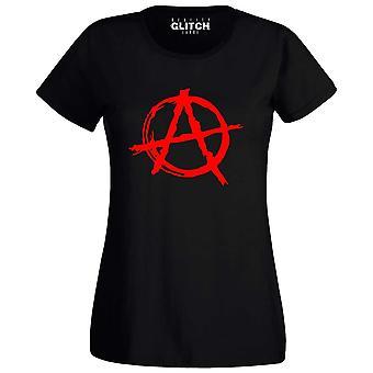 Vrouwen ' s anarchie symbool t-shirt
