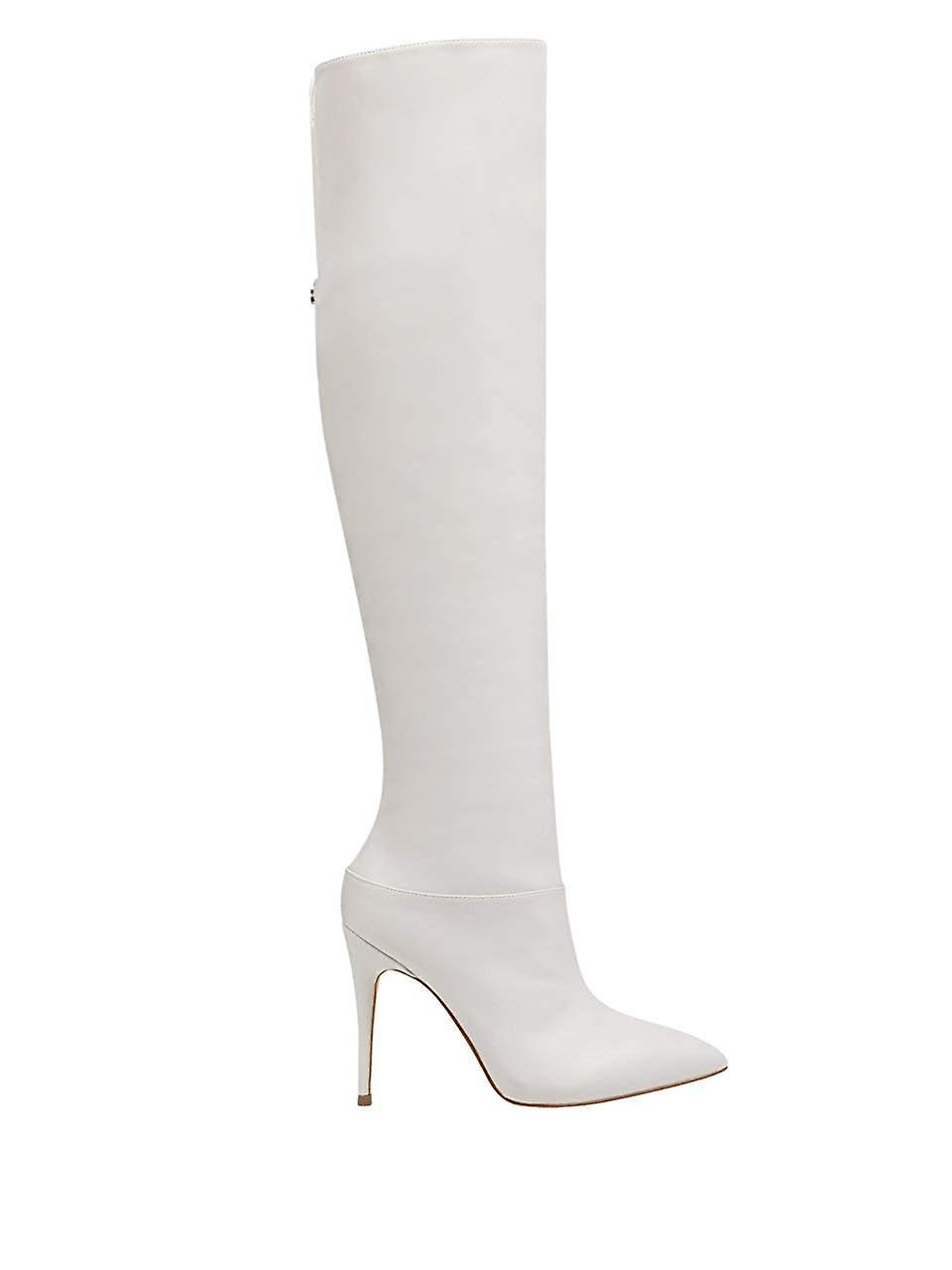 Guess Womens Orianna2 puntige teen over knie mode laarzen UKA6R9