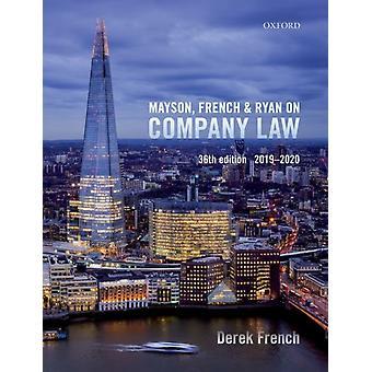 Mayson French  Ryan on Company Law by Derek French