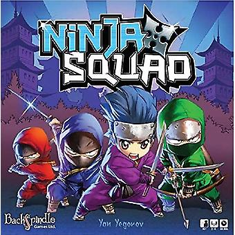 Backspindle spill Ninja Squad miniatyrer spill