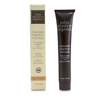 John Masters Organics Mandarin Maximum Moisture (for Dry/ Mature Skin) - 30ml/1oz