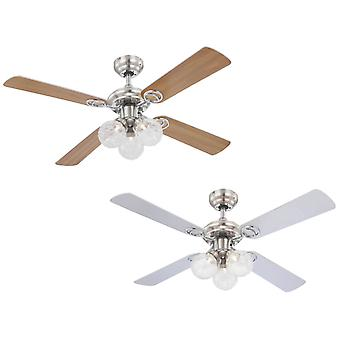 Ceiling fan Enigma with LED lights 105cm / 42