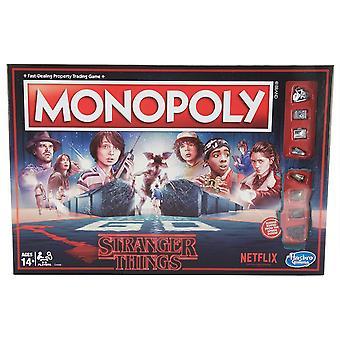 Hasbro HASC45501020 fremde Dinge Monopoly Brettspiel